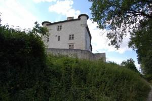 Gandaille, le château de Combebonnet